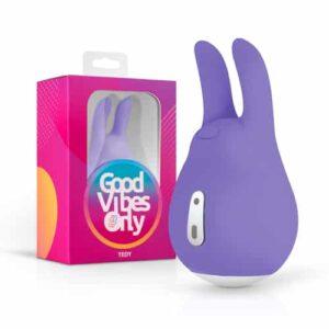 Good Vibes Only Tedy Clitoris Stimulator | Genotshop.nl