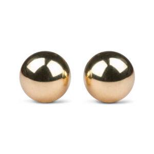 Easytoys Geisha Collection Easytoys Ben Wa Ballen 22mm - Goudkleurig | Genotshop.nl